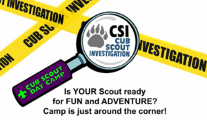 CSI Cub Scout Investigations Day Camp 2017
